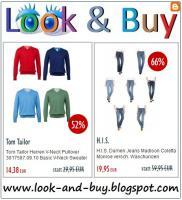Outlet Sale - Bis zu -60% Rabatt auf Marken-Jeans, Pollover, Shirts, Henden