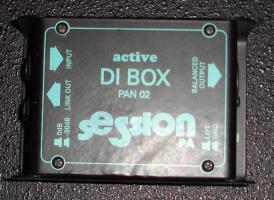 PALMER Active DI-Box PAN02/SessionPA Label
