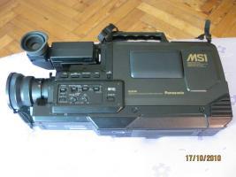 PANASONIC SVHS-Camcorder / Kamera NV-MS-1 für normale VHS / S-VHS Schulterkamera