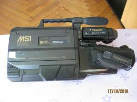 Foto 4 PANASONIC SVHS-Camcorder / Kamera NV-MS-1 für normale VHS / S-VHS Schulterkamera