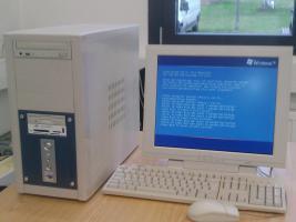 PC mit Drucker und Scanner , gebraucht