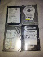 PC-Festplatten 4 St�ck