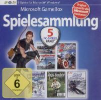 PC Game Paket - 5 CDs