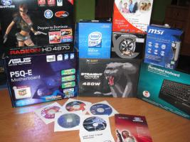 Foto 5 PC Komplettsystem - Core 2 Quad + SAMSUNG 24'' T240