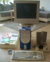 PC Pentium 4 komplett mit Zubehör und Windows XP