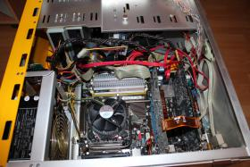 Foto 7 PC-Rechner Asus - Mainboard , IntelCore2 Duo