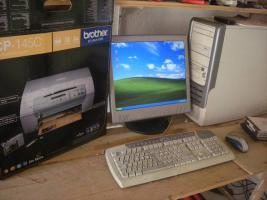 Foto 4 PC gebraucht komplet