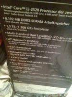 Foto 2 PC m. großem Bildschirm -48cm- 1,5 TB Festplatte