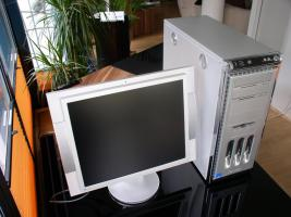Foto 6 PC + LCD Monitor (Eizo)  in SEHR GUTEM Zustand