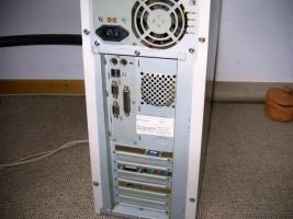 Foto 2 PC - Rechner - Monitor - Tastatur - Drucker - einschl. Tisch