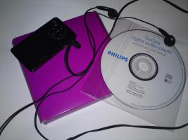 PHILIPS MP3-PLAYER 8GB