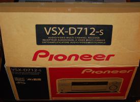 Foto 6 PIONEER VSX-D712 AUDIO VIDEO MULTI CHANNEL RECEIVER TUNER VERSTÄRKER