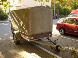 PKW Anhänger 1300 kg mit Plane TÜV Neu