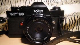 PORST Compact Reflex OC: Spiegelreflexkamera (ca. 1978)