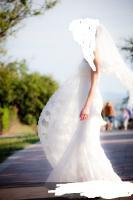 PRONOVIAS-Brautkleid aus Spitze