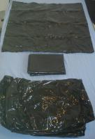 PVC - Bettwäsche Komplettset (Latex-Look schwarz Lack Leder)