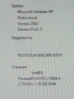 Foto 4 Packard Bell Desktop PC 500GB 2*2,8 GHZ 1,25GB Ram