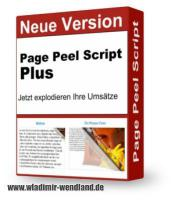 Page Peel Script (Eselsohr) Plus inkl. Master Reseller Lizenz