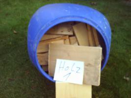 Palettenholz  > incl. 1 Tonne  120 Liter