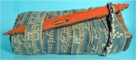 Palmblatt Manuscript, Handschrift, Dokument, Südostasien, Südasien,
