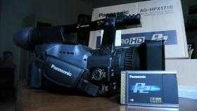 Panasonic AG-HPX171E HD Camcorder + 64GB P2 Card