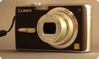 Panasonic Digitalcamera Lumix schwarz