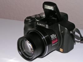 Panasonic Lumix DMC-FZ28EG-K (schwarz, OVP)