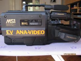 Foto 2 Panasonic MS1 SVHS Vollformat Profi Schulterkamera Zubehör Koffer