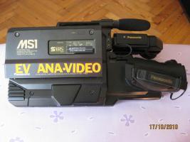 Foto 3 Panasonic MS1 SVHS Vollformat Profi Schulterkamera Zubehör Koffer