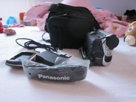 Panasonic NV-GS11 Camcorder, Videokamera mit Fernbedienung