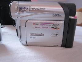 Foto 2 Panasonic NV-GS11 Camcorder, Videokamera mit Fernbedienung