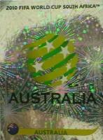 Foto 2 Panini Sticker WM 2010   Australien Zeichen Nr. 278 + Algerien Zeichen Nr. 221