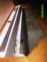 Foto 4 Panorama-Becken 120x55x50 cm ca. 280 Liter Massiv in Buche-UNIKAT-