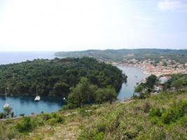 Panorama Grundstueck auf Paxos / Griechenland