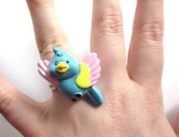 Papagei Ring