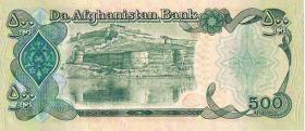 Papiergeld 500 AFGHANIS !