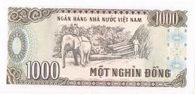 Foto 2 Papiergeld Vietnam 1000 Mot Nghin Dong ! !