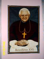 Papst Benedictus Wandteppich
