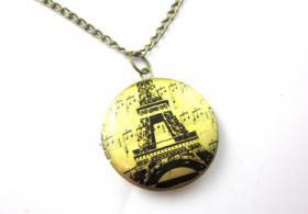 Paris Amulett Kette