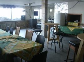 Partyraum, Fetenraum mit Bestuhlung und Sanitäranl., Gr. 82m²