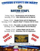 Partys feiern im Bayern-Stad`l Hannover