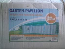 Pavillon 3x6m mit 5 Seitenteilen