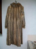 Foto 2 ***Pelzmantel Gr. 36 -Schakal- neuwertig  ***kaum getragen***