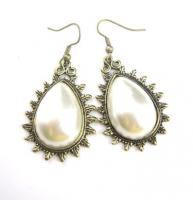 Perlen Tropfen Ohrringe