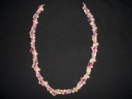 Foto 3 Perlenschmuck selbst gehäkelte Ketten und Armbänder