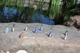 Foto 5 Perlentiere (Schlüssel-, Handyanhänger, Ketten) zu verkaufen
