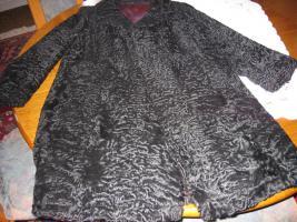 Persianerpelz Mantel/Jacke schwarz Gr. 42/44