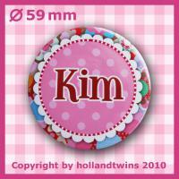 Foto 2 Pers�nlicher Button Brosche mit Namen, button, namensbutton, anstecknadel, brosche, pins, wm