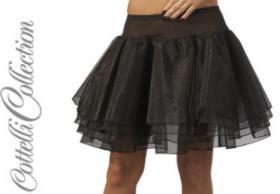 Petticoat schwarz Gr. Medium (M) - OVP - NEU