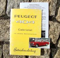 Foto 3 Peugeot 203 Betriebsanleitung (1954)